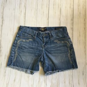Lucky Brand Abbey Denim Cut Off Shorts
